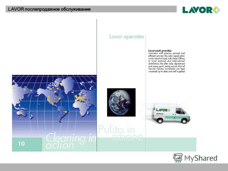 LAVOR послепродажное обслуживание