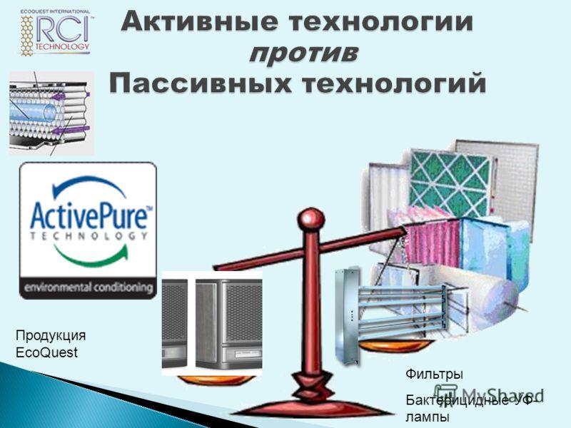 Фильтры Бактерицидные УФ- лампы Продукция EcoQuest