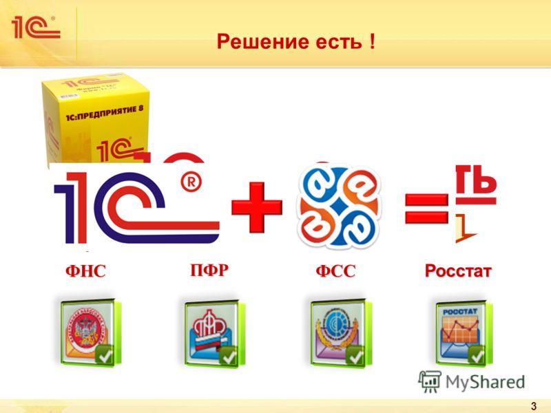 ФНСФСС ПФР Росстат 3 Решение есть !