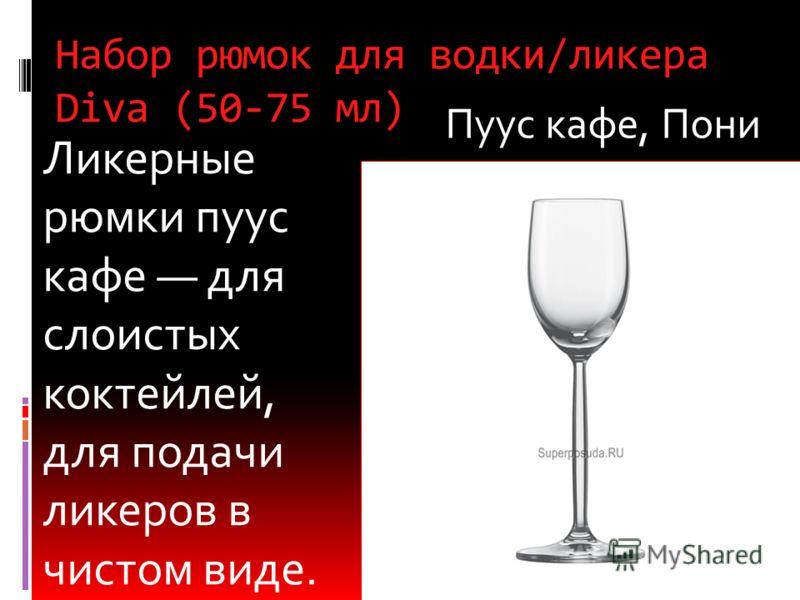 Рюмка для водки Pure (94 мл) Для подачи алкогольных напитков методом straight up, то есть в чистом виде без льда, и для подачи коктейлей небольшого объема, которые выпиваются одним глотком. ШОТ