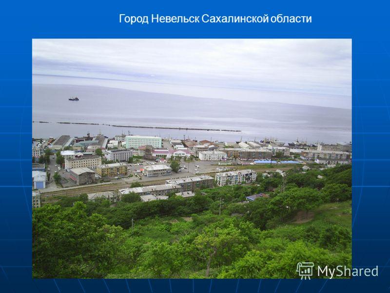 Город Невельск Сахалинской области
