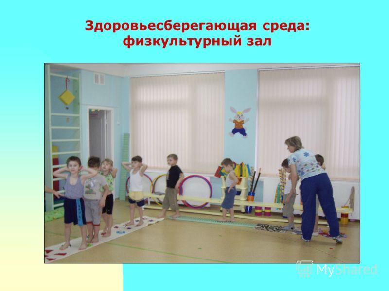 Здоровьесберегающая среда: физкультурный зал