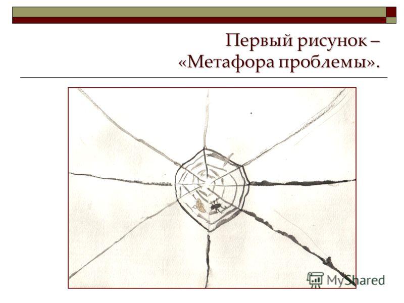 Первый рисунок – «Метафора проблемы».