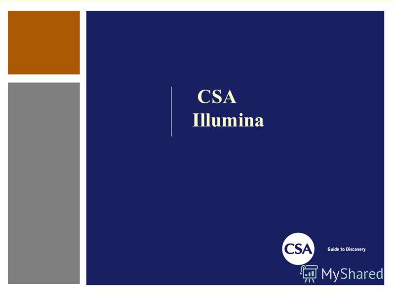 CSA Illumina