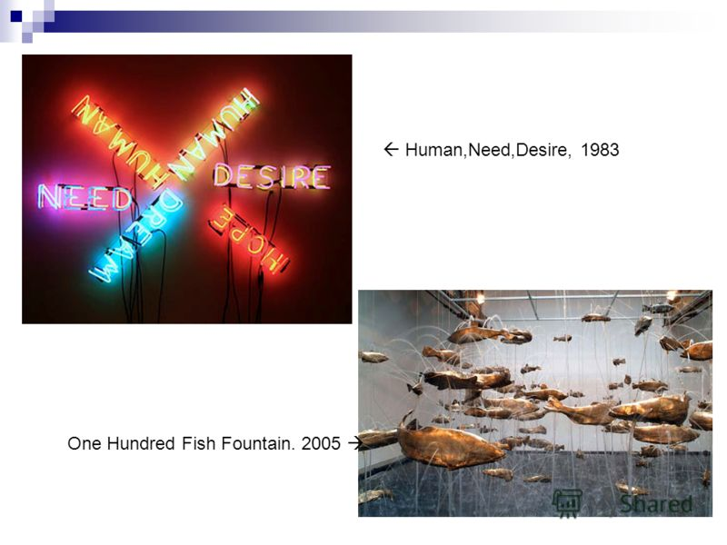 Human,Need,Desire, 1983 One Hundred Fish Fountain. 2005