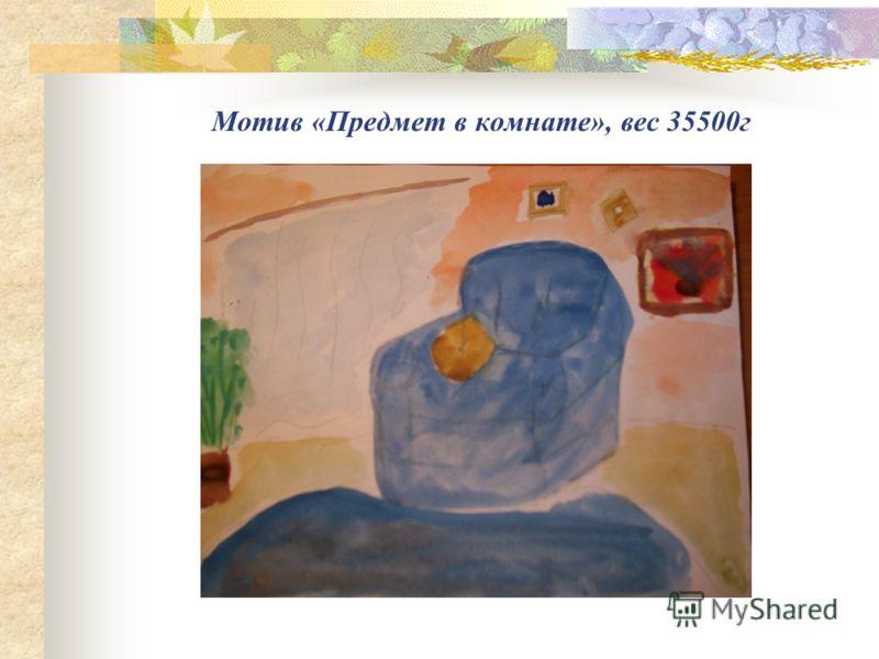 Мотив «Предмет в комнате», вес 35500г
