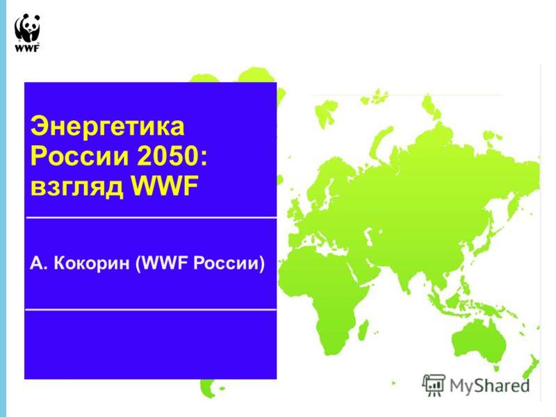 1 June 2013 - 1 ВИЭ и экологический взгляд на энергетику 2050 г. А. Кокорин (WWF России) Энергетика России 2050: взгляд WWF