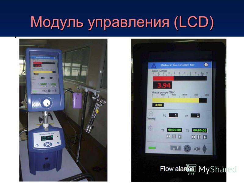 Модуль управления (LCD)