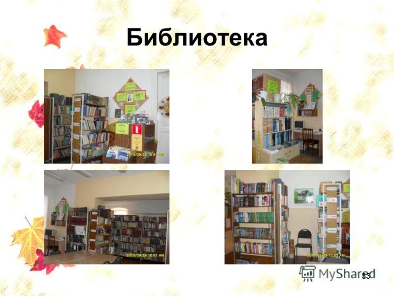 33 Библиотека