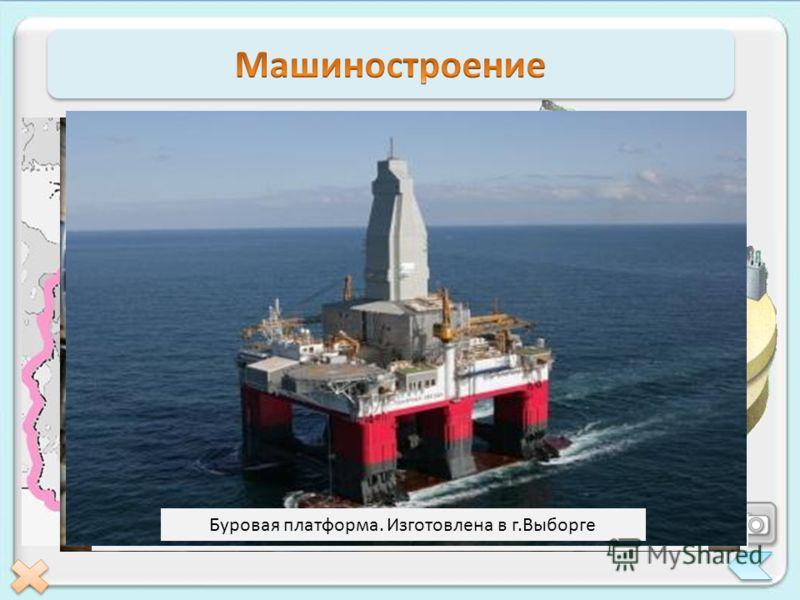 В машиностроение выделяются три главных направления, которые производят 11% машиностроительной продукции России. Большая часть машиностроительных заводов сосредоточена в Санкт-Петербурге. Балтийский завод. Здесь производят морские суда всех типов Спу