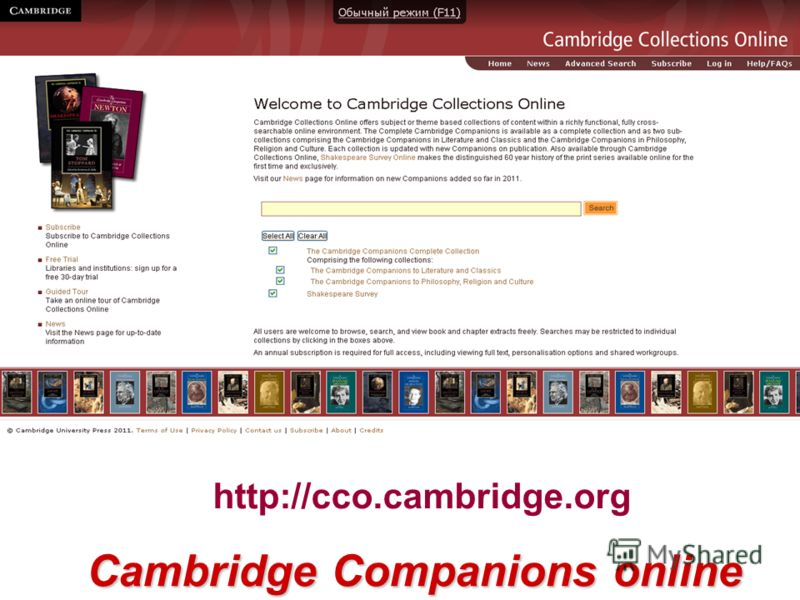 http://cco.cambridge.org Cambridge Companions online
