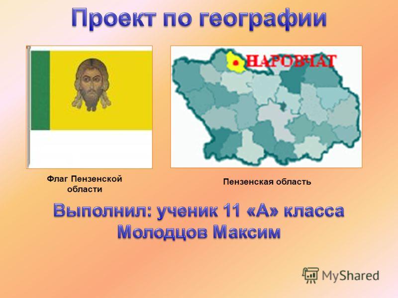 Флаг Пензенской области Пензенская область