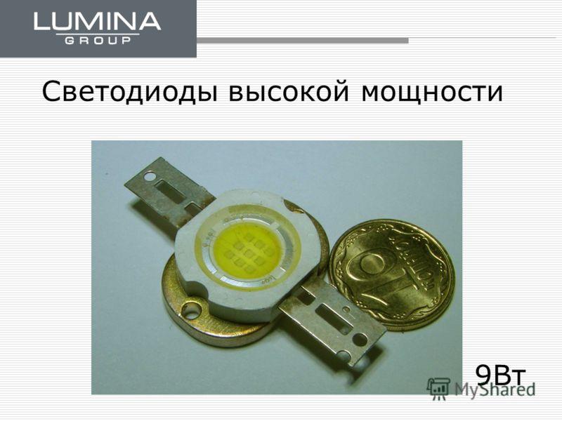 Светодиоды высокой мощности 9Вт