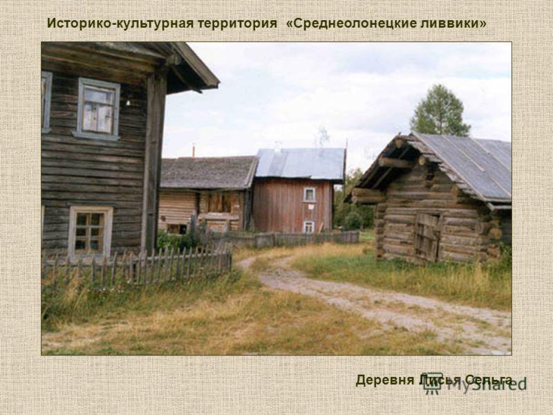 Историко-культурная территория «Среднеолонецкие ливвики» Деревня Лисья Сельга