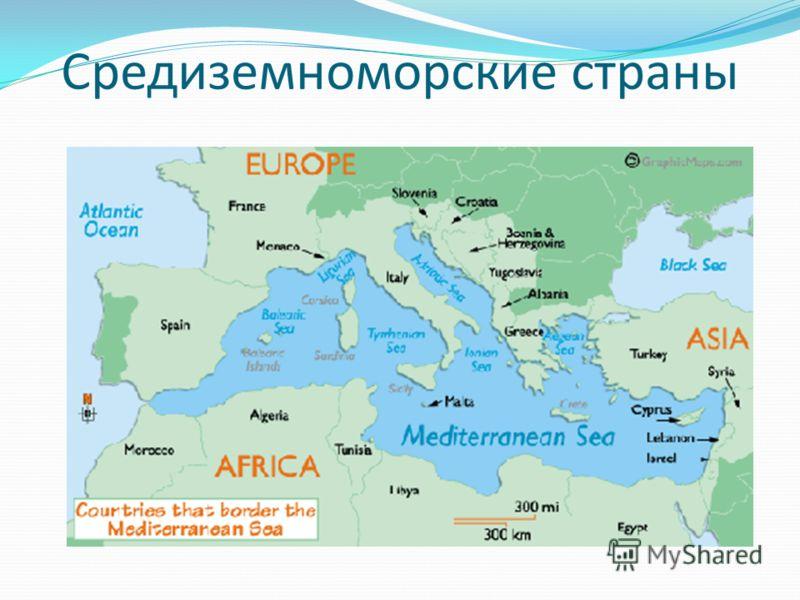 Средиземноморские страны