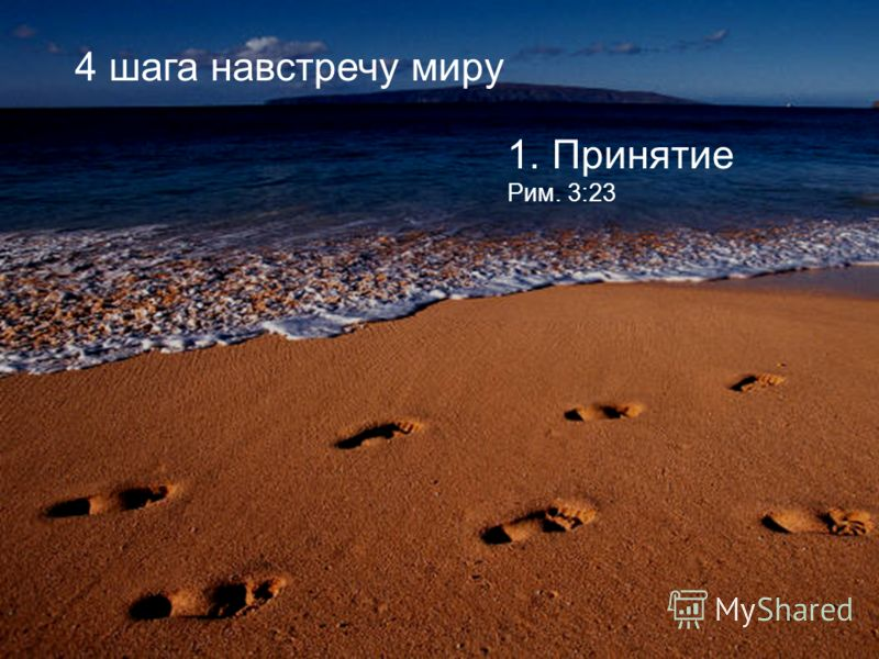 1. Принятие Рим. 3:23