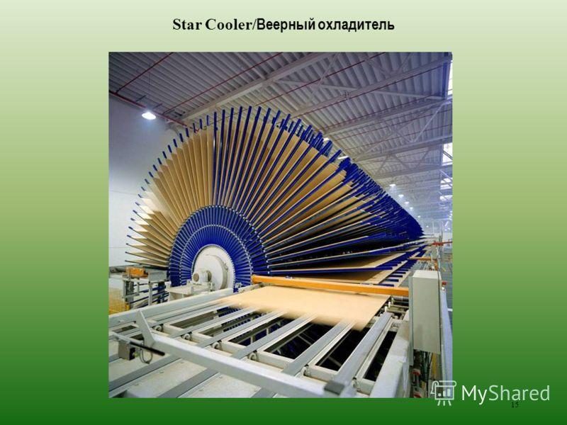 15 Star Cooler/ Веерный охладитель