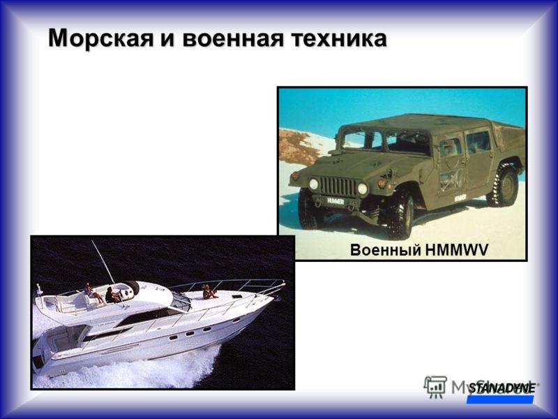 Военный HMMWV Морская и военная техника