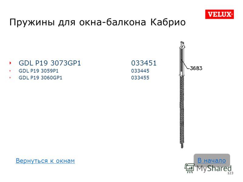 Пружины для окна-балкона Кабрио GDL P19 3073GP1033451 GDL P19 3059P1 033445 GDL P19 3060GP1 033455 123 В начало Вернуться к окнам