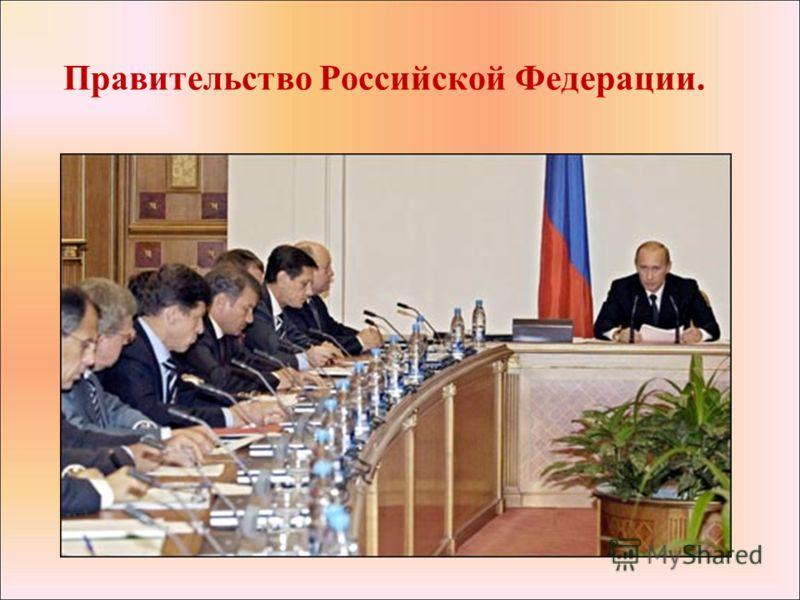 Правительство Российской Федерации.