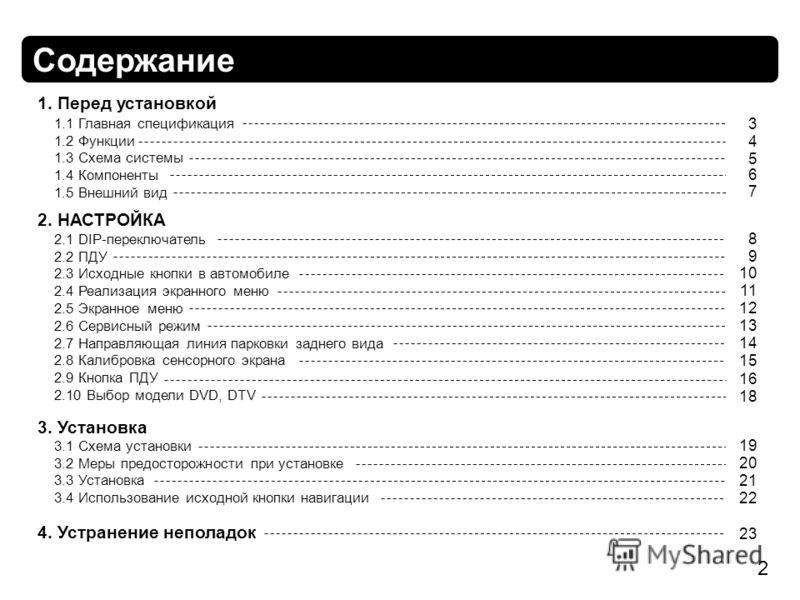 Функции 1.3 Схема системы