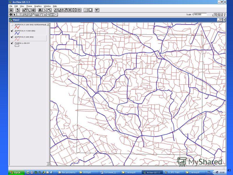 43 Дорожная сеть ( RDL )