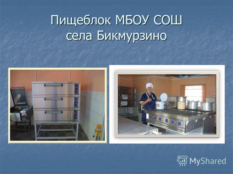 Филиал МБОУ СОШ с Бикмурзино в с Илим-Гора