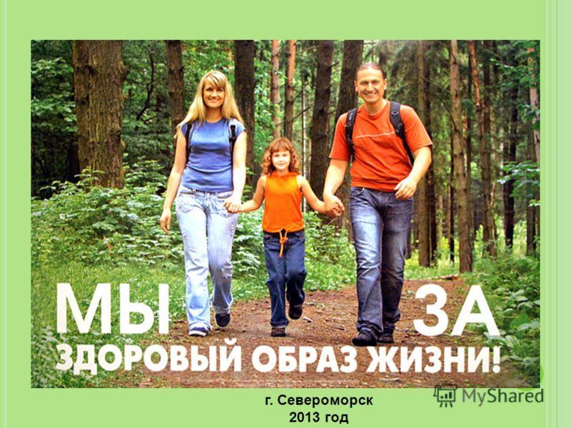г. Североморск 2013 год