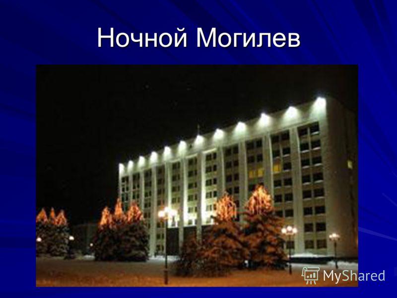 Ночной Могилев
