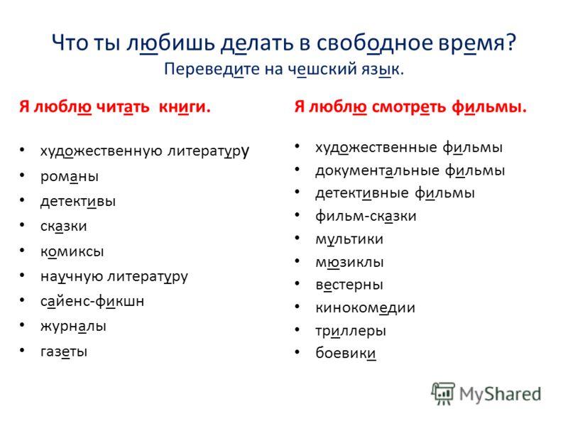 Список запросов