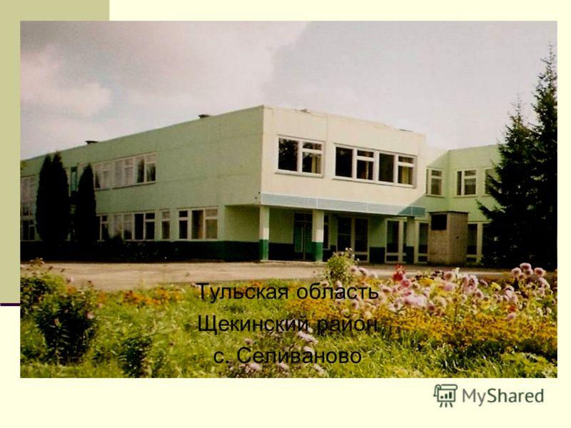 Тульская область Щекинский район с. Селиваново