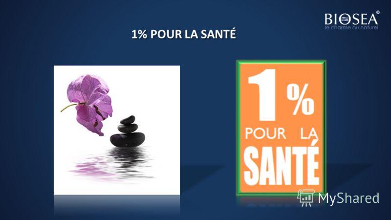1% POUR LA SANTÉ