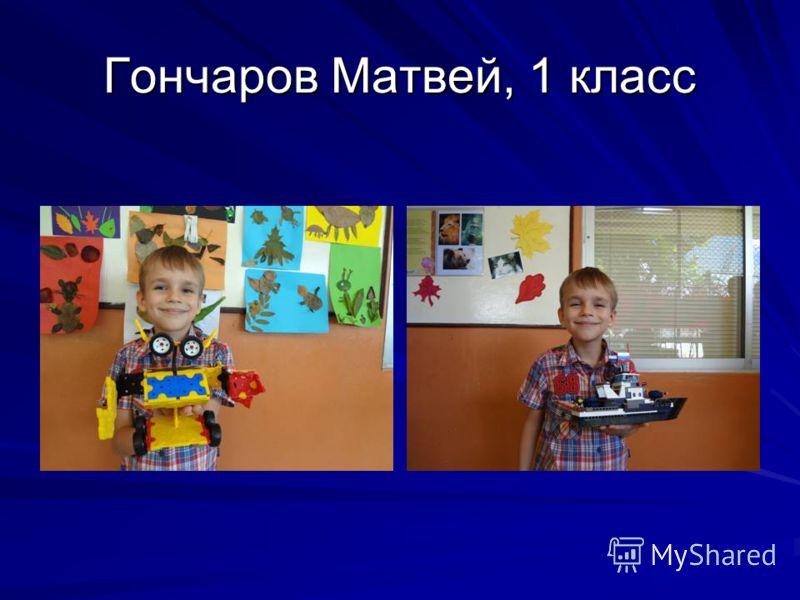 Гончаров Матвей, 1 класс