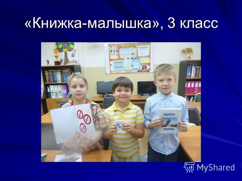 «Книжка-малышка», 3 класс