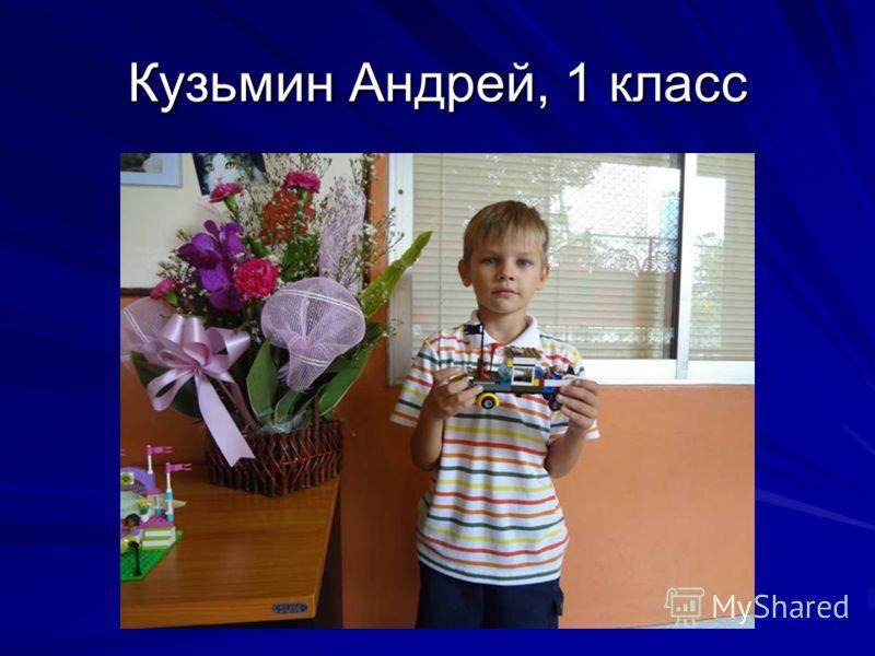 Кузьмин Андрей, 1 класс