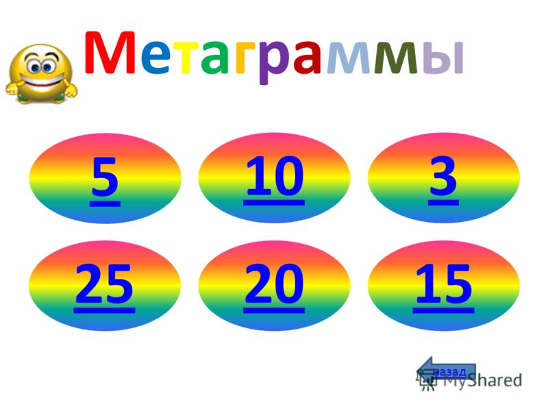 МетаграммыМетаграммы 5103252015 назад