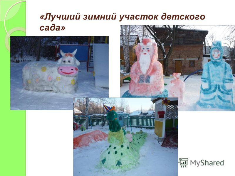 «Лучший зимний участок детского сада»