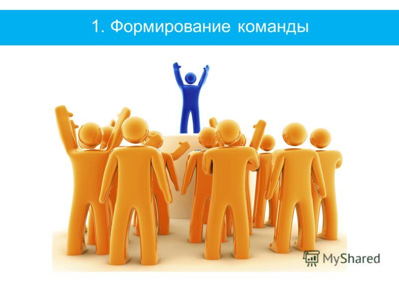 1. Формирование команды