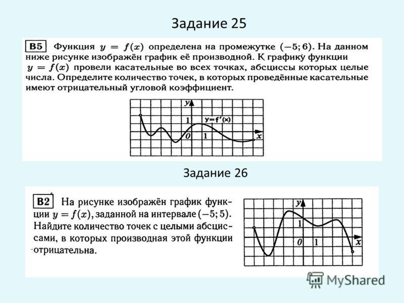 Задание 25 Задание 26