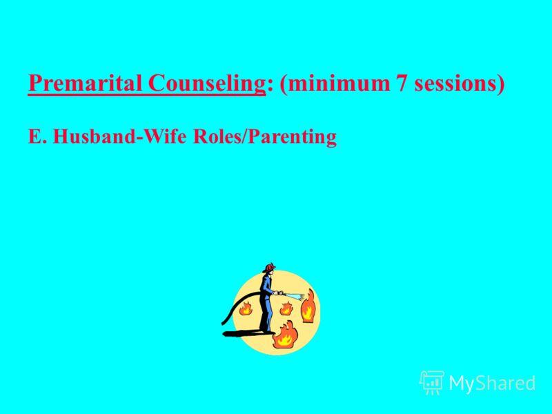 Добрачное консультирование: (минимум 7 сессий) D. Профессия /Родственники супруга /Друзья/ Церковь