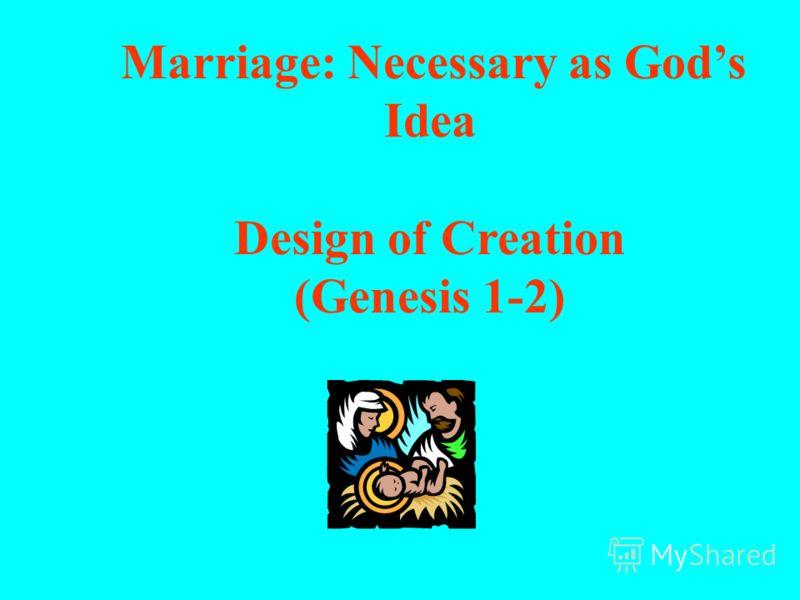 Библейский призыв к вступлению в брак