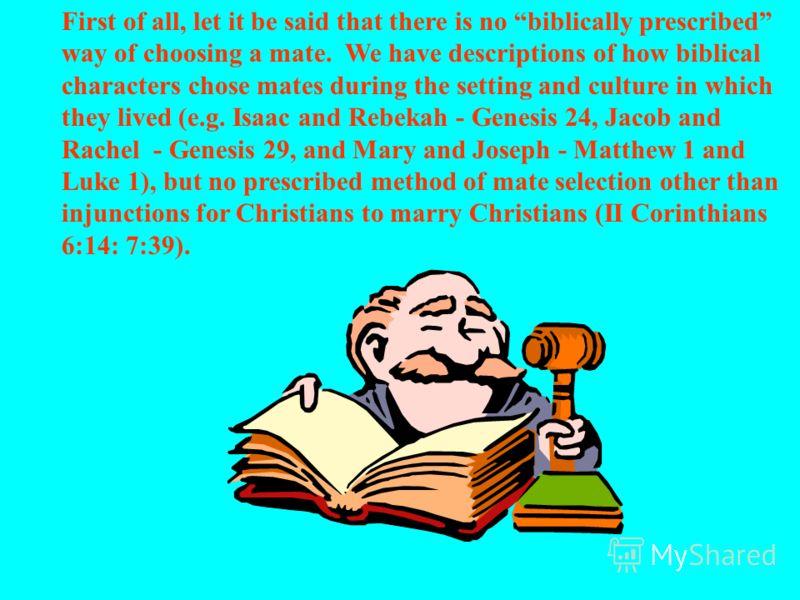 Вступая в 21й век, христиане призваны вести общество за собой, и тем, как мы - христианское сообщество - себя поведем, предложить лучшую альтернативу в сфере выбора супруга