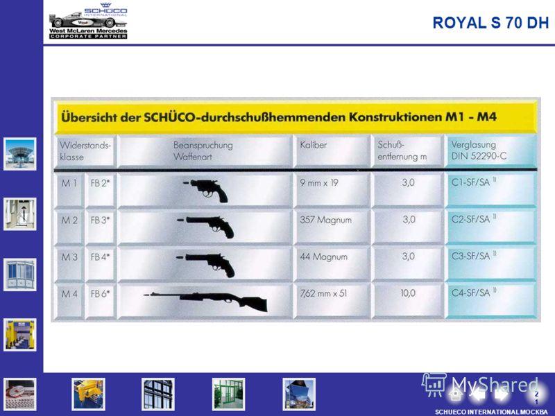 2121 SCHUECO INTERNATIONAL МОСКВА ROYAL S 70 DH