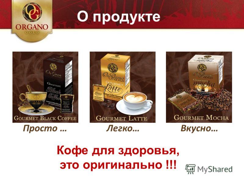 Business perfetto Просто …Вкусно…Легко… О продукте Кофе для здоровья, это оригинально !!!