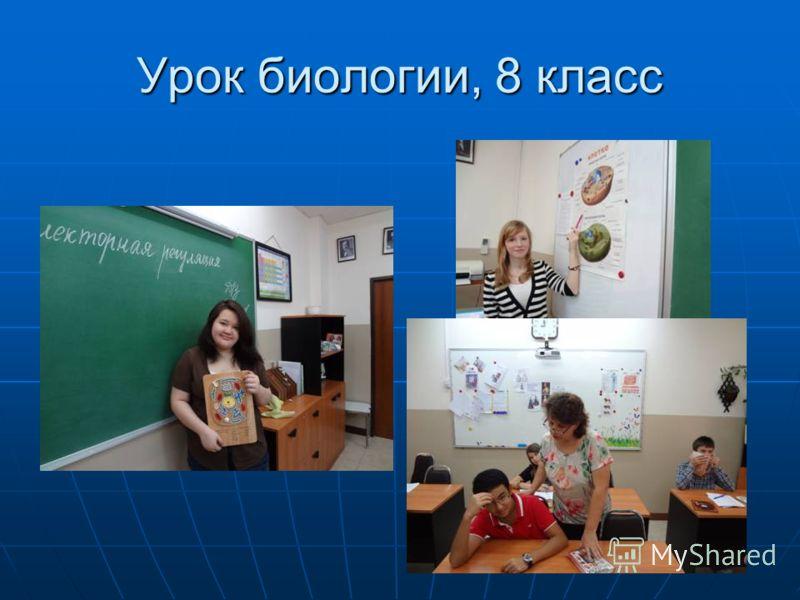 Урок биологии, 8 класс
