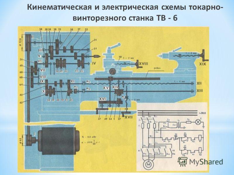 винторезного станка ТВ - 6