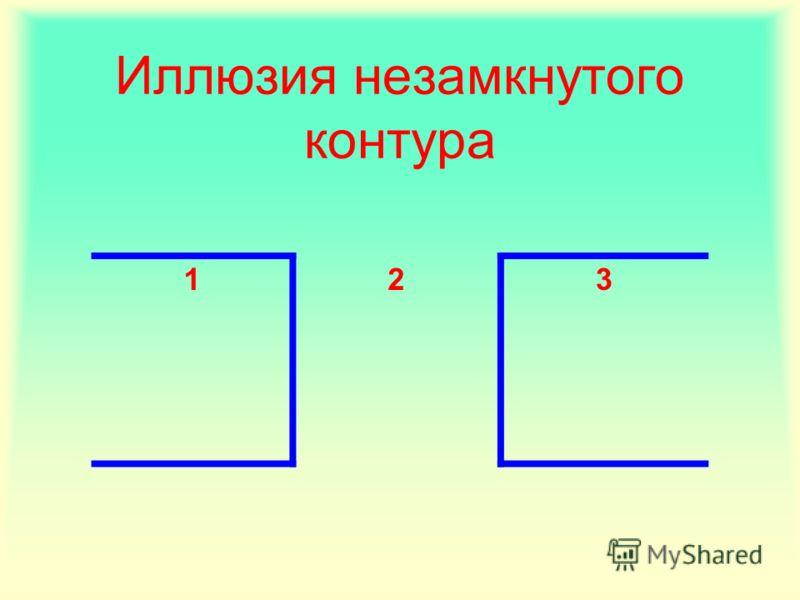 Иллюзия незамкнутого контура 123
