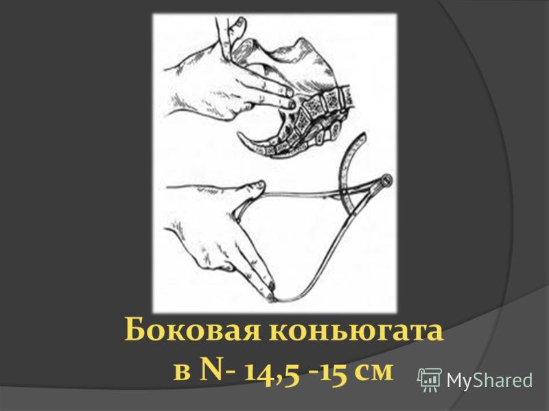 Боковая коньюгата в N- 14,5 -15 см