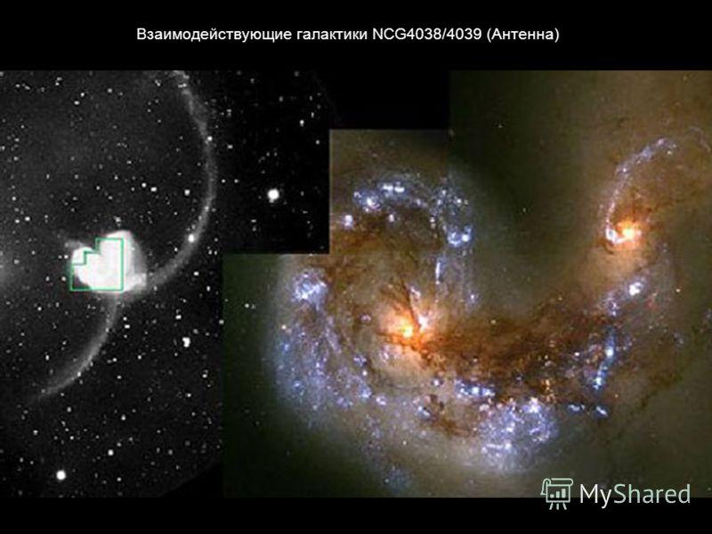 Взаимодействующие галактики NCG4038/4039 (Антенна)