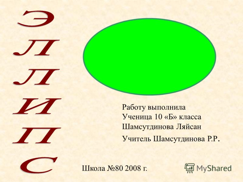 Работу выполнила Ученица 10 «Б» класса Шамсутдинова Ляйсан Учитель Шамсутдинова Р.Р. Школа 80 2008 г.